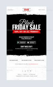 black friday shopping offers email template psd by kalanidhithemes