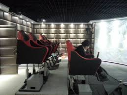 home theater platform sell 3dof electric platform with two seats 5d cinema seat