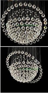 sphere style chandelier glass globe chandeliers modern