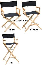 Tall Director Chairs Commercial Director Chair