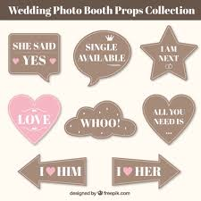 Wedding Photo Booth Props Booth Vectors Photos And Psd Files Free Download