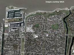 New Orleans Area Map by Understanding Katrina