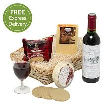 Wine And Cheese Gifts Wine U0026 Cheese Hamper U2013 Food Hampers And Gift Baskets With Cheese