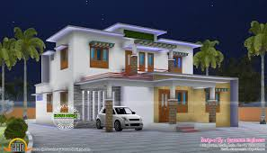 2170 sq ft home plan by spaceone engineers kerala home design