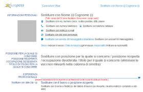 curriculum vitae formato europeo pdf da compilare online curriculum vitae europass il nuovo modello richiesto per concorsi