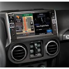 jeep wrangler navigation system x009 wra 9 in dash dvd navigation restyle system for jeep wrangler