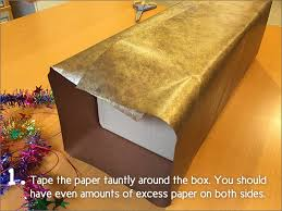 gift wrapping basics how to gift wrap a box