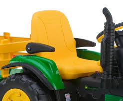 amazon com peg perego john deere ground force tractor with