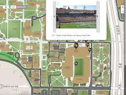Msu Interactive Map Game Day Technology Campusbird