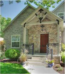 Modern Front Porch Decorating Ideas Very Small Porch Decorating Ideas For Your Home With Natural Stone