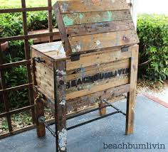 How To Make Patio Furniture Out Of Pallets by Rustic Cooler Box From Recycled Pallets U2014 Beachbumlivin Awesome
