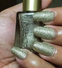 gold silver nail polish loreal nail polish color the statement