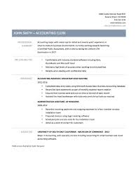 free resume template accounting clerk resume exle resume assistant accountant resume