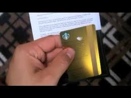starbuck gold card starbucks gold card