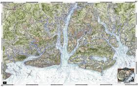 Map Of Kiawah Island Coastal Art Maps