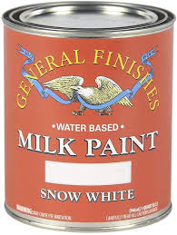 snow white milk paint kitchen cabinets general finishes water based milk paint 1 quart snow white