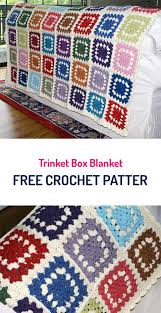 free crochet patterns for home decor trinket box blanket free crochet pattern crochet style home