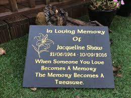 grave plaques memorial grave plaque engraved headstone large black granite
