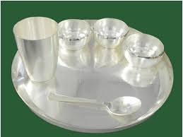 silver items silver plated gift items om impex exporter in milap nagar