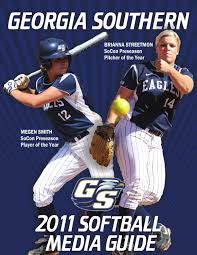 2011 georgia southern softball media guide by georgia southern