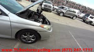 parting out 2005 toyota solara stock 6079bl tls auto recycling