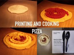 Where To Print Edible Images 3ders Org The F3d 3d Printer Doesn U0027t Just Print Pizza But Also