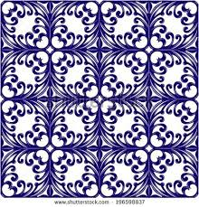 italian traditional ornament mediterranean seamless pattern stock