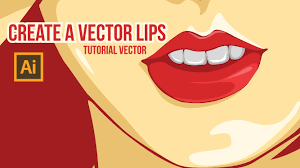 vector skin tone tutorial create a vector lips tutorial vector youtube