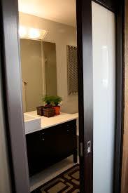Doors For Small Bathrooms Interior Design Creative Sliding Room Dividers Glass Frozen White