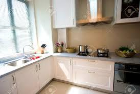modern kitchen london apartments personable interior design clean modern kitchen stock