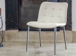 Dining Room Chair Legs Bontempi Casa Kuga Metal Legs Dining Chair By R U0026d Barcelona