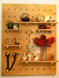 Peg Board Shelves by Diy Big Peg Board Shelving System 13 Steps With Pictures