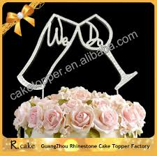 top sale wedding decoration items love letter cake topper with