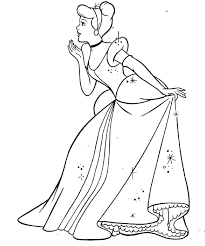 cinderella coloring pages disney kids coloring