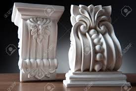 beautiful elements of luxury wall design white stucco mouldings