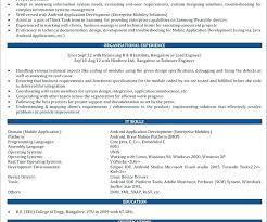 curriculum vitae format doc download itunes here are android developer resume entry level java developer