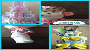 easy diy towel cake for baby showers gift android apps on google