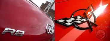 corvette vs audi r8 audi r8 vs chevrolet corvette ls3 who will win the shootout