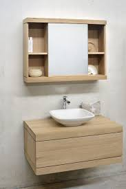 Bathroom Vanities And Linen Cabinet Sets Oak Cadence Vanity Unit Ethnicraft In Measurements X Solid Wood