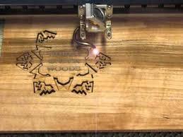 laser cut custom wood snowflake ornament