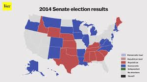 Republican States Map by 40 Maps And Charts That Explain The 2014 Midterm Elections Vox