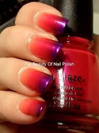 30 most beautiful orange and purple nail art designs