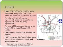denver light rail expansion map city growth case study of denver colorado