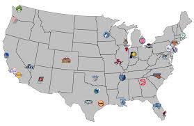 map of nba teams nba team map my