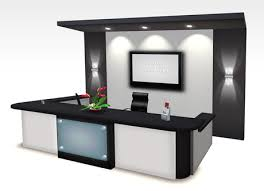 Modern Office Reception Desk Second Marketplace Modern Office Furniture Paragon