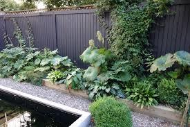 trend alert black fences gardenista