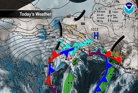 national weather forecast map national maps alaska noaa s national weather service