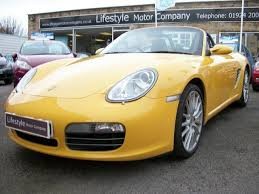 used porsche boxster s used porsche boxster 2005 petrol 3 2 s 2dr convertible yellow