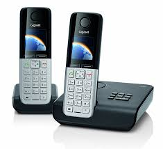 gigaset c300a twin dect cordless phone set with answer amazon co