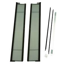 Retractable Closet Doors Odl Brisa White Screen Door Pack Brddtwe The Home Depot